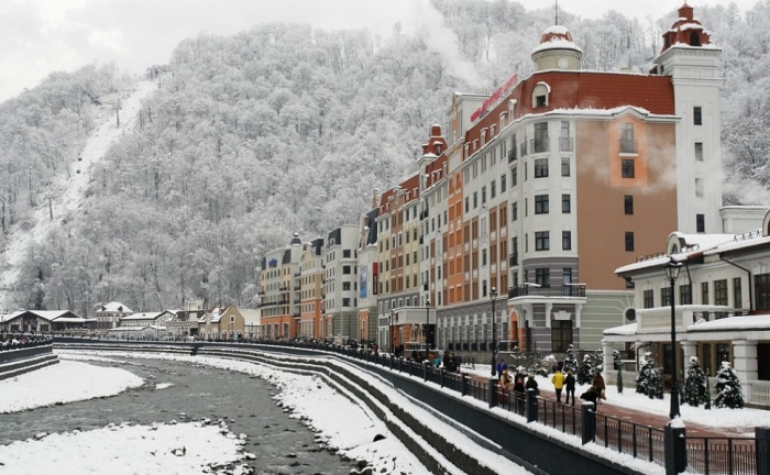 Курорты Кубани приняли этой зимой 2 млн отдыхающих