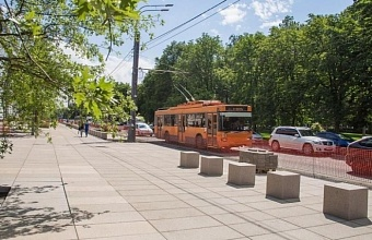 Trolleybus Lines Are Taken Down in Krasnodar
