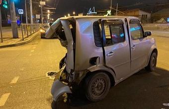 В Краснодаре пьяный водитель иномарки устроил ДТП