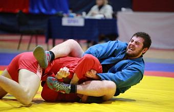 Кубанские самбисты завоевали семь медалей национального первенства