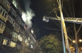 В Сочи при пожаре в многоэтажке спасли 19 человек