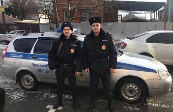 В Краснодаре полицейские отговорили мужчину прыгать моста