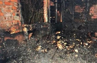 В Тимашевске после пожара в доме нашли тело мужчины