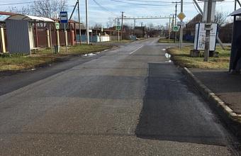В Краснодаре выполнили ямочный ремонт на 46 участках дорог