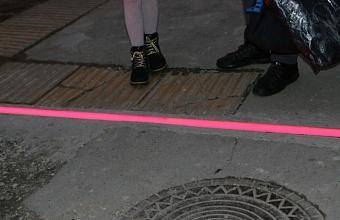 В Новороссийске устанавливают новые наземные светофоры