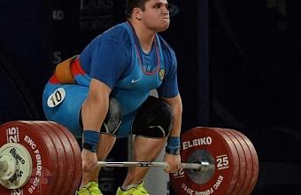 Краснодарский спортсмен выступит на Кубке мира по тяжелой атлетике