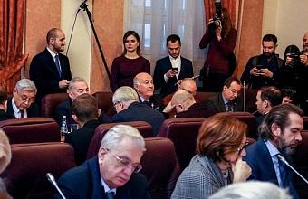 Бурлачко принял участие в заседании рабочей группы по поправкам в Конституцию РФ