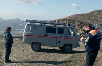 Четыре парня на машине заблудились в горах Новороссийска
