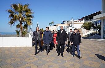 План реконструкции набережной пляжа «Ривьера» представили в Сочи