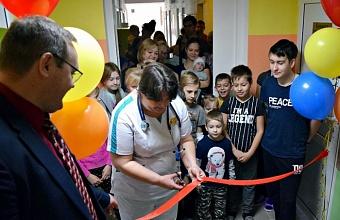 Педиатрическое отделение отремонтировали в горбольнице Горячего Ключа
