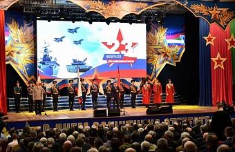 Губернатор Краснодарского края поздравил ветеранов с Днем защитника Отечества
