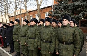 Кубанское казачье войско в 2019 г. отправило на военную службу 636 призывников