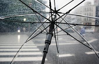 Дождь со снегом и сильный ветер ожидаются на Кубани