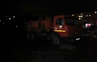 Водооткачивающая техника дежурила ночью на дорогах Краснодара