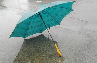 Дожди и сильный ветер ожидаются сегодня на Кубани
