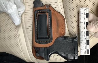 В Сочи полицейские задержали водителя с оружием и боеприпасами