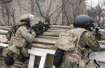 Антитеррористические учения УФСБ прошли в Динском районе