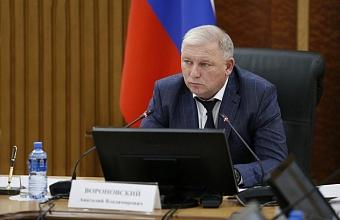 Анатолий Вороновский: «Дорожное строительство на Кубани должно идти ударными темпами»