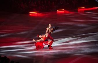 Ледовое шоу Ильи Авербуха «Чемпионы» состоялось в Краснодаре