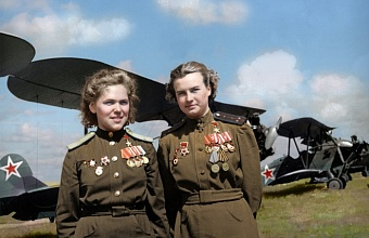 «Ночные ведьмы» - так называли немецкие солдаты женский авиационный полк в составе ВВС СССР