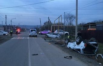 В Апшеронске в ДТП погиб трехлетний ребенок