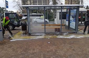 Массовую дезинфекцию улиц проводят в Сочи