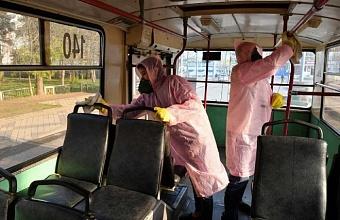 Дезинфекция более 2 тыс. км улиц проведена в Краснодарском крае