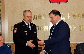 Назначен новый начальник ОМВД России по Туапсинскому району