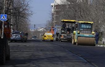 По нацпроекту в Новороссийске отремонтировали ул.  им. Василия Ботылева