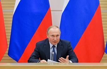 Владимир Путин проведет совещание с главами регионов по борьбе с коронавирусом