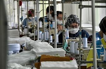 В Краснодарском крае на производство масок перепрофилировали 16 предприятий