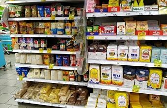 Запаса продуктов на складах магазинов Краснодарского края хватит минимум до лета