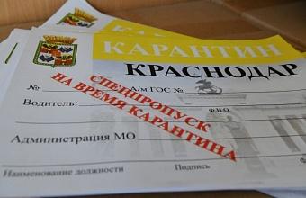 Действие желтых пропусков в Краснодаре сохранится для жителей Адыгеи до 6 июня