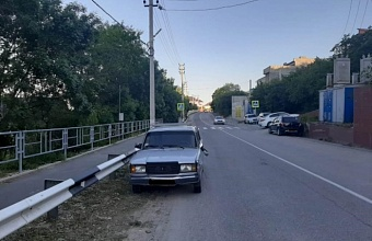 Водитель без прав в Новороссийске сбил 10-летнего велосипедиста