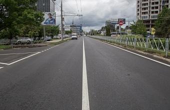 В Краснодаре по нацпроекту отремонтировали 13 из 69 участков улиц