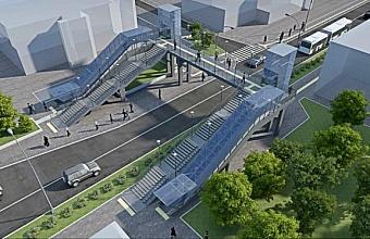 Современный и технологичный надземный пешеходный переход появится в Сочи