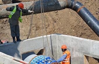 На новом участке Троицкого группового водопровода запускают водоснабжение