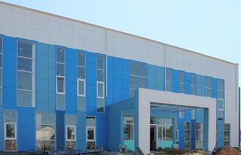 Плавательный бассейн в Брюховецком районе построен на 60%