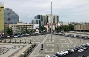 Обновление дорог вокруг Главной горплощади Краснодара завершили раньше сроков
