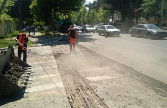 В Новороссийске завершают ремонт одной из главных магистралей