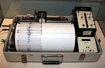 В Крымском районе произошло землетрясение магнитудой 3,5