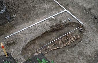 Могилу сарматского воина обнаружили под Краснодаром