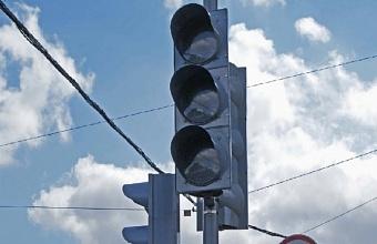 На двух участках улицы имени Каляева в Краснодаре временно не будут работать светофоры