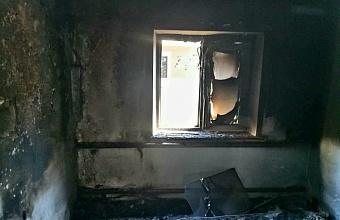 При пожаре в доме на Кубани погибла 83-летняя женщина