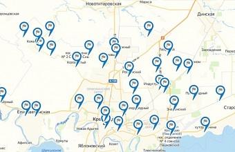 Интерактивная карта экспозиций Генплана Краснодара опубликована