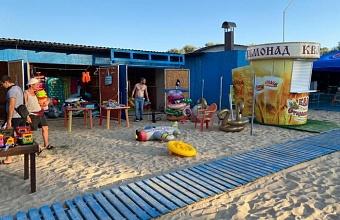Пляжи Анапы очистили от незаконной торговли