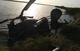 Под Ростовом вертолет Ми-2 совершил жесткую посадку, есть погибший