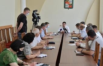 Глава Краснодара поручил ускорить восстановление энергоснабжения города