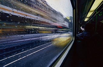 В Краснодаре из-за дождя парализовано движение общественного транспорта