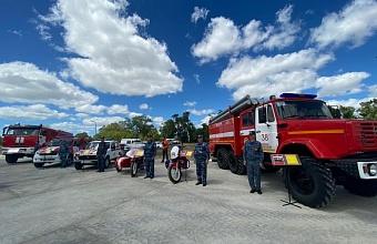 Новая пожарная часть появилась в Анапе